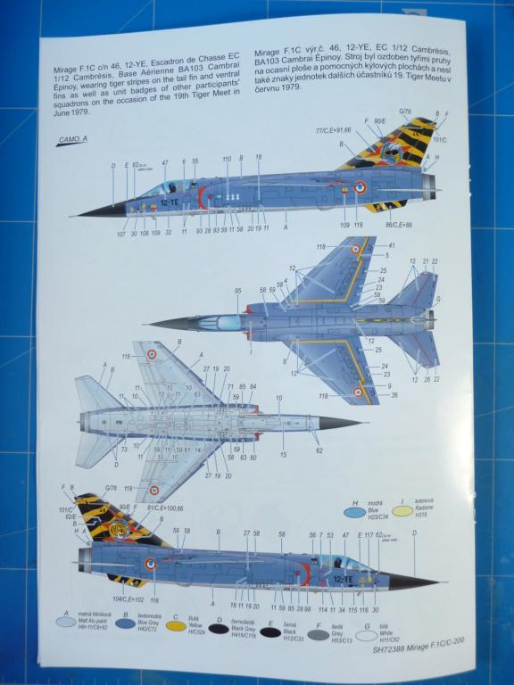 "Mirage F.1C EC 01/30 ""Valois"" 1/72 (Special Hobby 72388) P1300418"