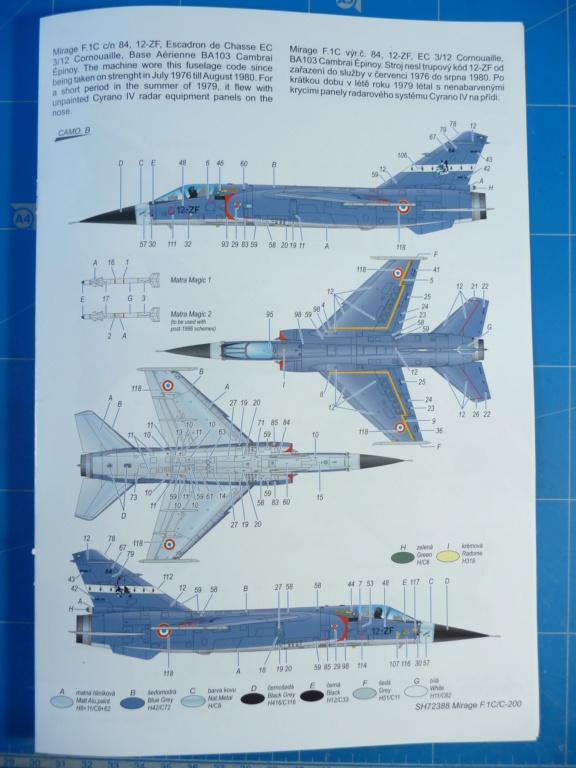 "Mirage F.1C EC 01/30 ""Valois"" 1/72 (Special Hobby 72388) P1300419"