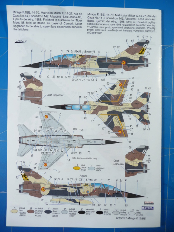 "Mirage F.1B EC 03/30 ""Lorraine"" 1/72 (Special Hobby 72291) P1300425"