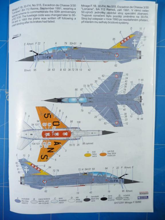 "Mirage F.1B EC 03/30 ""Lorraine"" 1/72 (Special Hobby 72291) P1300426"