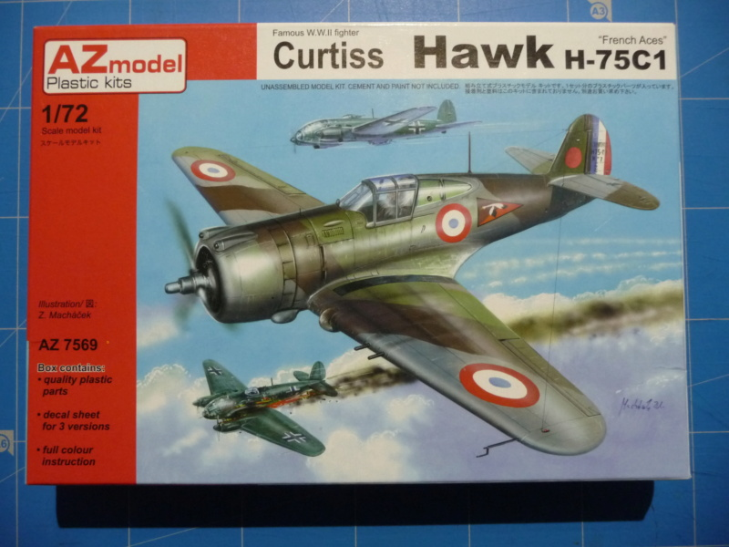 Fil rouge 2020 : Curtiss H75 A-2 1/72 (AZmodel 7569) P1300714