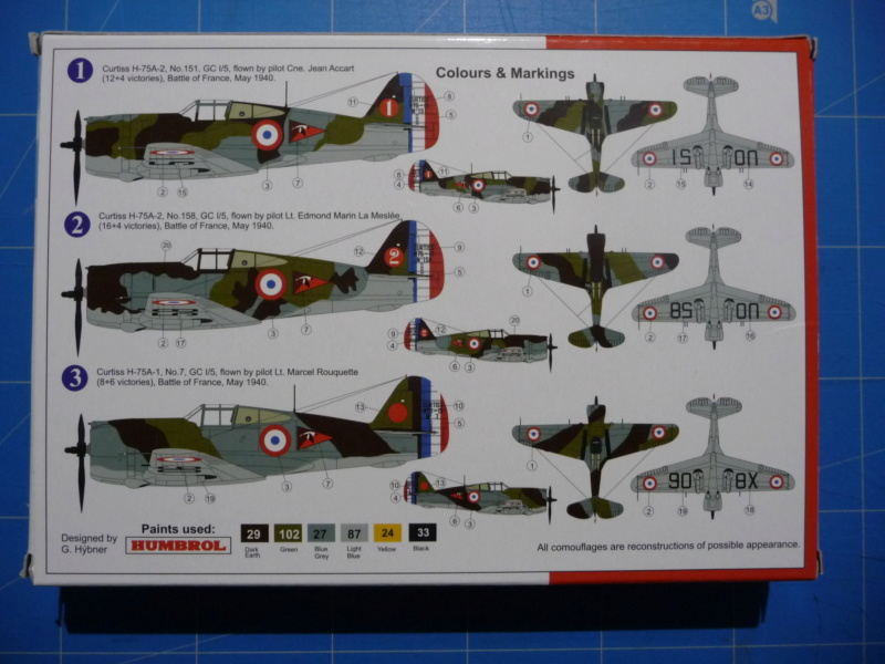 Fil rouge 2020 : Curtiss H75 A-2 1/72 (AZmodel 7569) P1300716