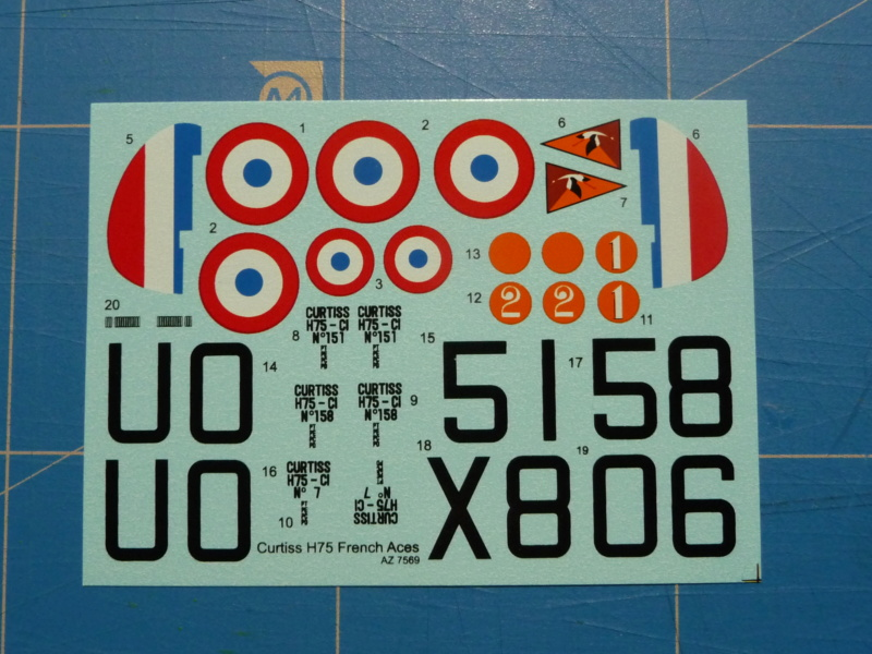Fil rouge 2020 : Curtiss H75 A-2 1/72 (AZmodel 7569) P1300719