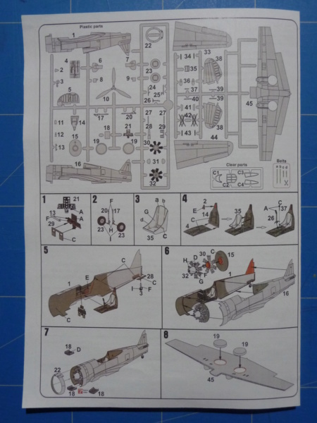 Fil rouge 2020 : Curtiss H75 A-2 1/72 (AZmodel 7569) P1300722