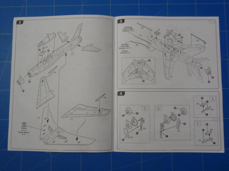 F-100F Super Sabre 1/72 (Italeri 1398) P1300817