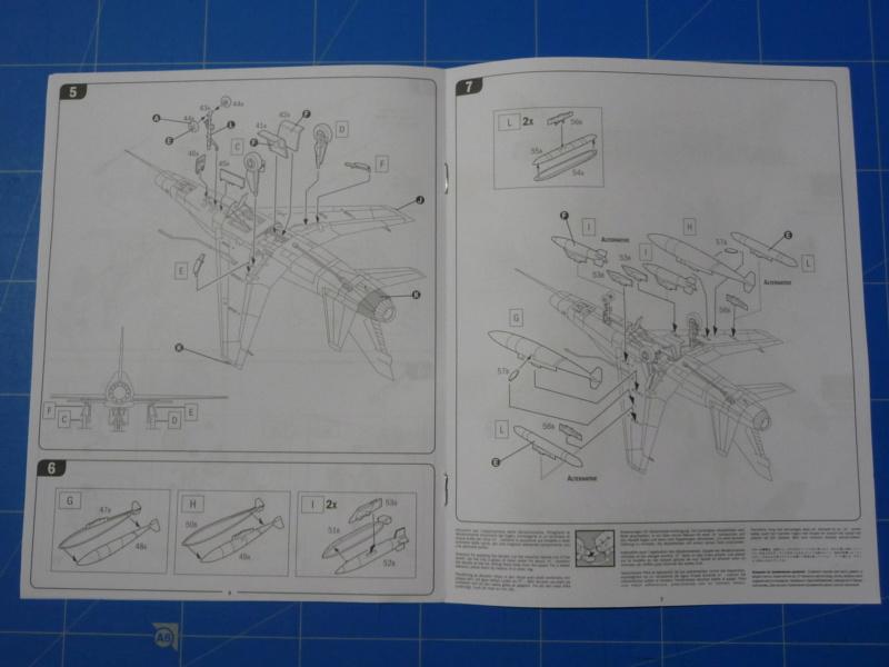 F-100F Super Sabre 1/72 (Italeri 1398) P1300818