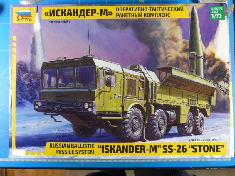 """Iskander-M """"SS-26 Stone"""" 1/72 ( Zvezda 5028 ) *** Terminé en pg 3 P1300910"""