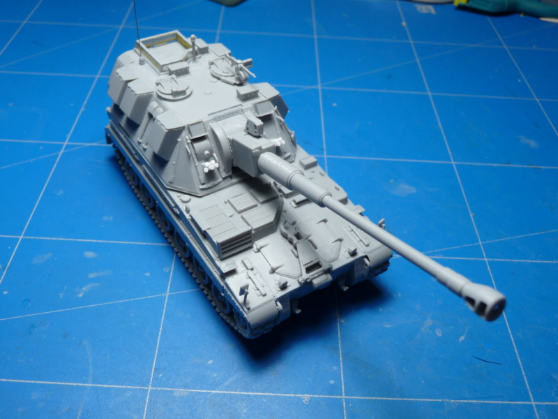 British AS-90 Spg 1/72 (Trumpeter 07221) *** Terminé en pg 2 P1300913