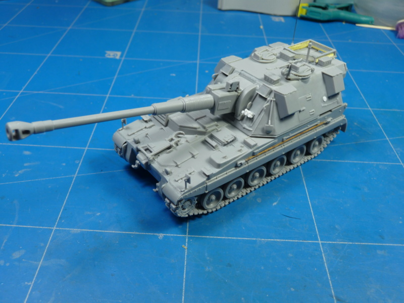 British AS-90 Spg 1/72 (Trumpeter 07221) *** Terminé en pg 2 P1300914