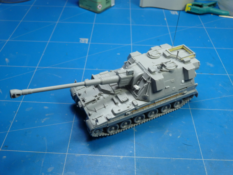 British AS-90 Spg 1/72 (Trumpeter 07221) *** Terminé en pg 2 P1300915