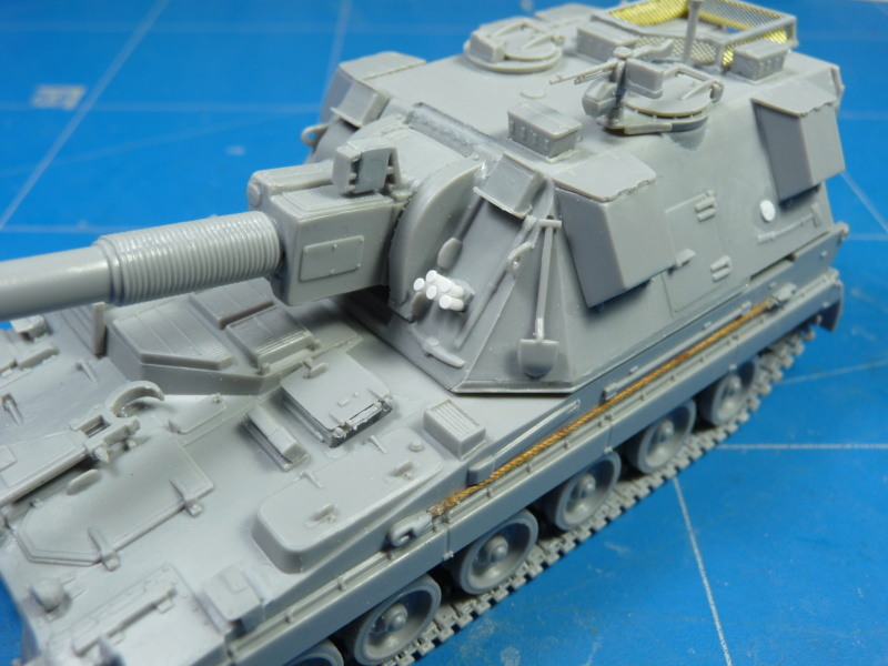 British AS-90 Spg 1/72 (Trumpeter 07221) *** Terminé en pg 2 P1300916