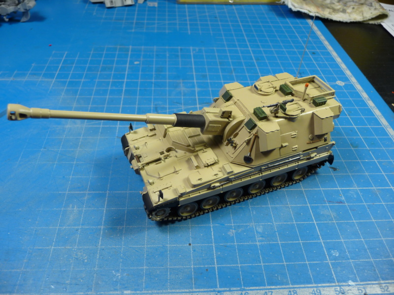 British AS-90 Spg 1/72 (Trumpeter 07221) *** Terminé en pg 2 P1310229