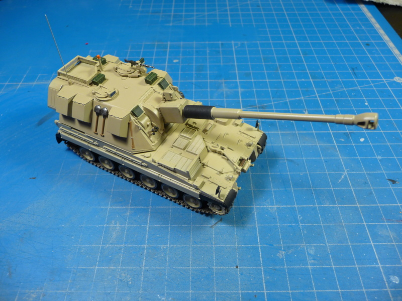 British AS-90 Spg 1/72 (Trumpeter 07221) *** Terminé en pg 2 P1310230