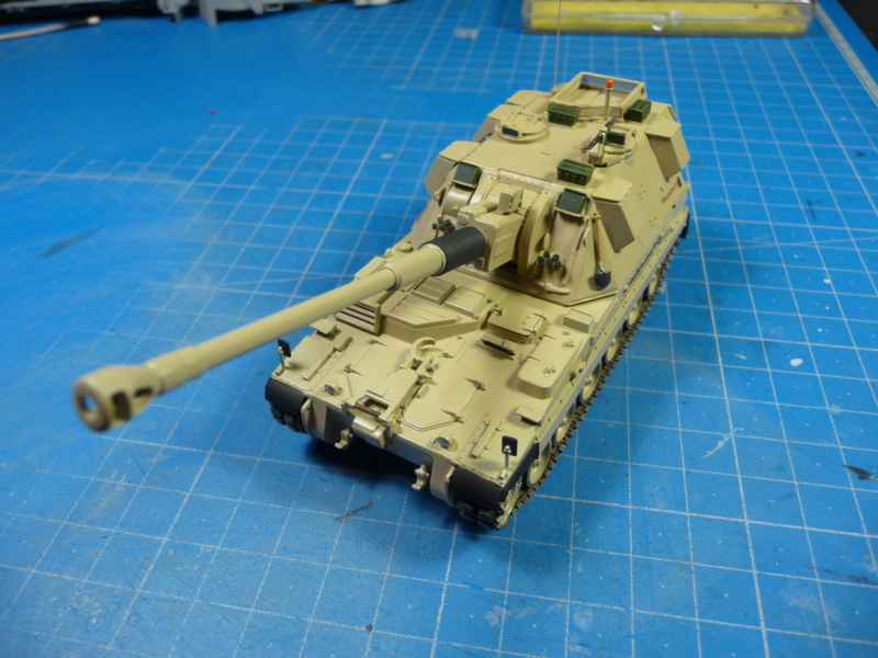 British AS-90 Spg 1/72 (Trumpeter 07221) *** Terminé en pg 2 P1310231