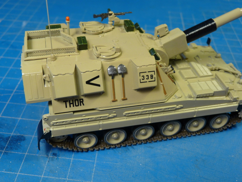 British AS-90 Spg 1/72 (Trumpeter 07221) *** Terminé en pg 2 P1310317