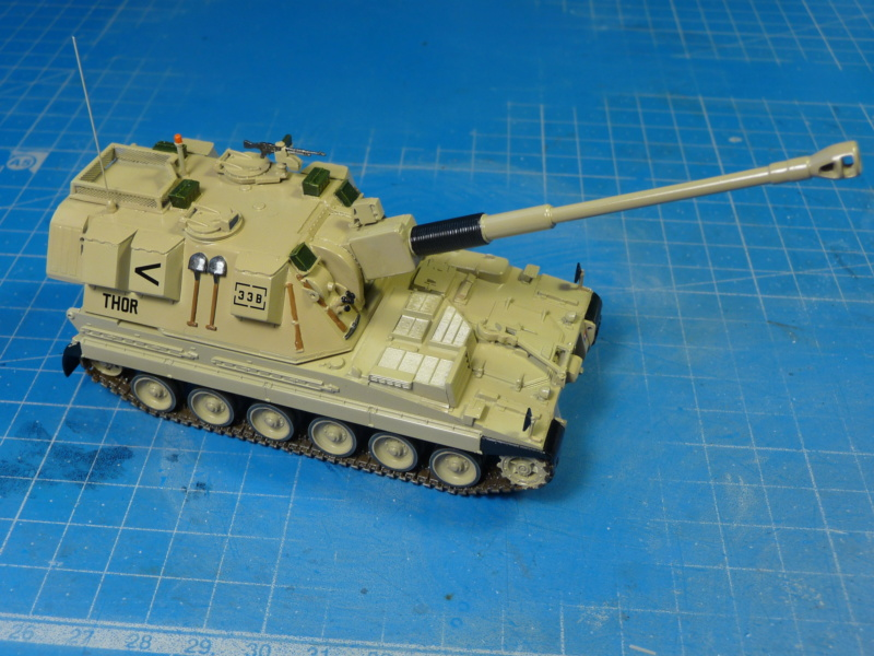 British AS-90 Spg 1/72 (Trumpeter 07221) *** Terminé en pg 2 P1310318