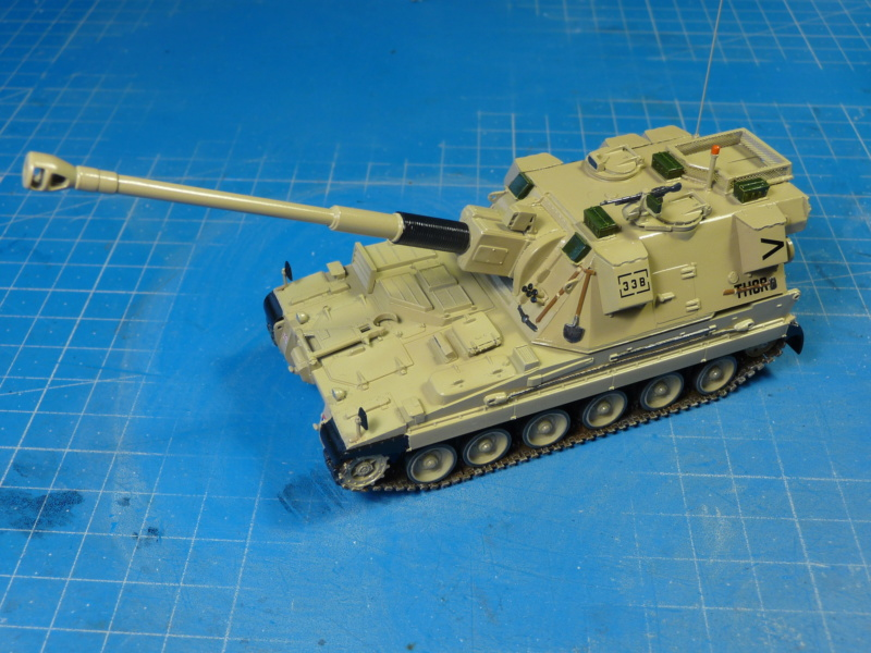 British AS-90 Spg 1/72 (Trumpeter 07221) *** Terminé en pg 2 P1310319