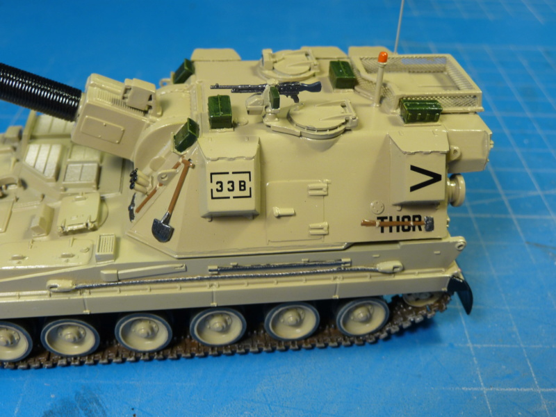 British AS-90 Spg 1/72 (Trumpeter 07221) *** Terminé en pg 2 P1310320