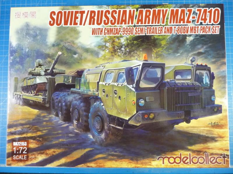 Ouvre-boite : MAZ-7410 & Chmzap-9990 w/ T-80BV MBT 1/72 (Modelcollect UA 72153) P1310426