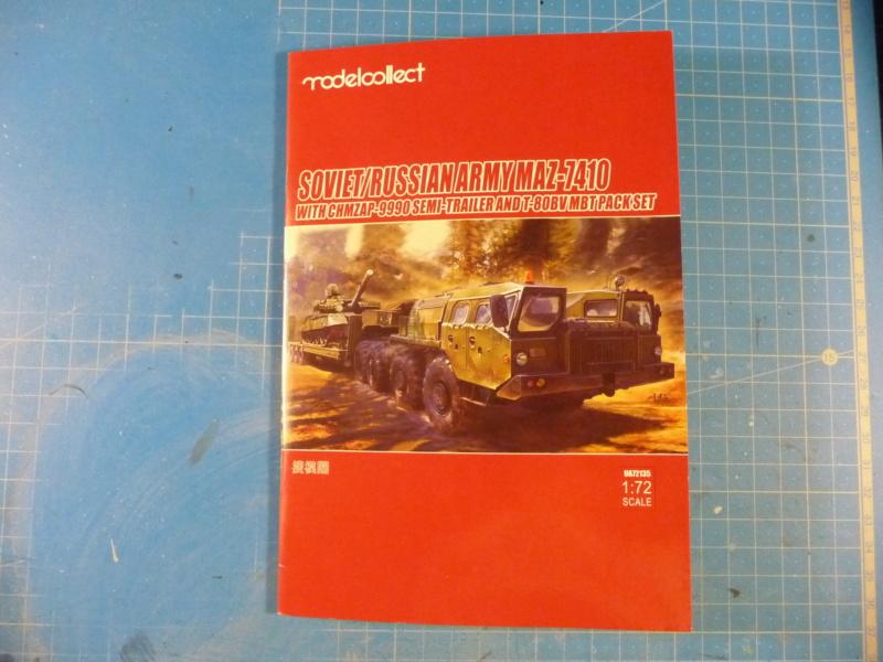Ouvre-boite : MAZ-7410 & Chmzap-9990 w/ T-80BV MBT 1/72 (Modelcollect UA 72153) P1310429