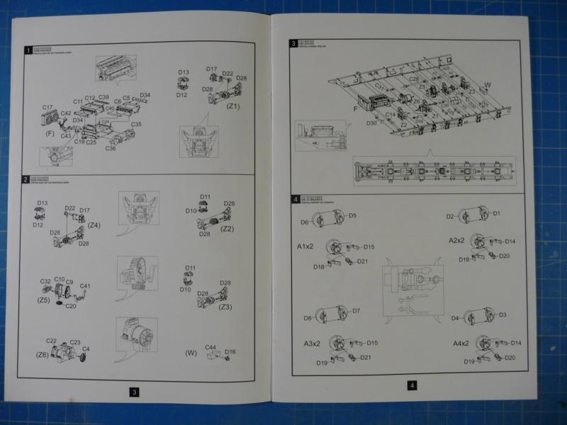 Ouvre-boite : MAZ-7410 & Chmzap-9990 w/ T-80BV MBT 1/72 (Modelcollect UA 72153) P1310430