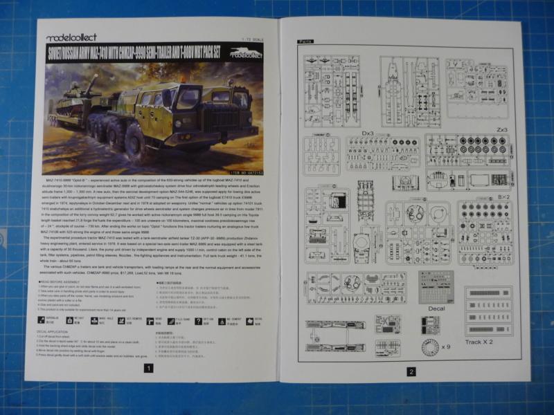 Ouvre-boite : MAZ-7410 & Chmzap-9990 w/ T-80BV MBT 1/72 (Modelcollect UA 72153) P1310431