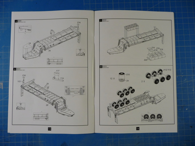 Ouvre-boite : MAZ-7410 & Chmzap-9990 w/ T-80BV MBT 1/72 (Modelcollect UA 72153) P1310436