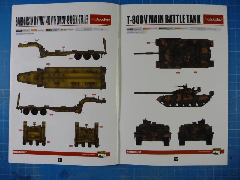 Ouvre-boite : MAZ-7410 & Chmzap-9990 w/ T-80BV MBT 1/72 (Modelcollect UA 72153) P1310439