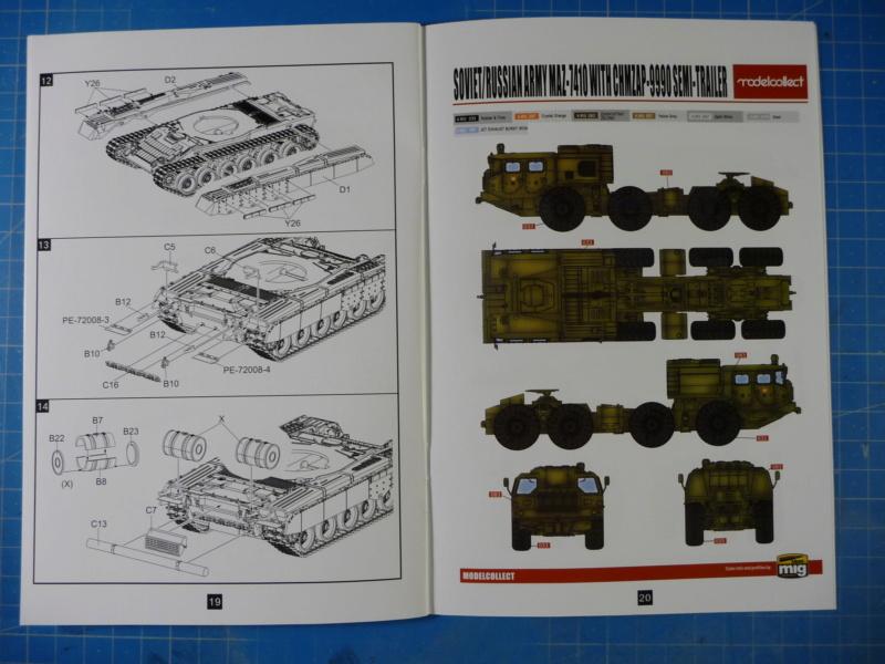 Ouvre-boite : MAZ-7410 & Chmzap-9990 w/ T-80BV MBT 1/72 (Modelcollect UA 72153) P1310440