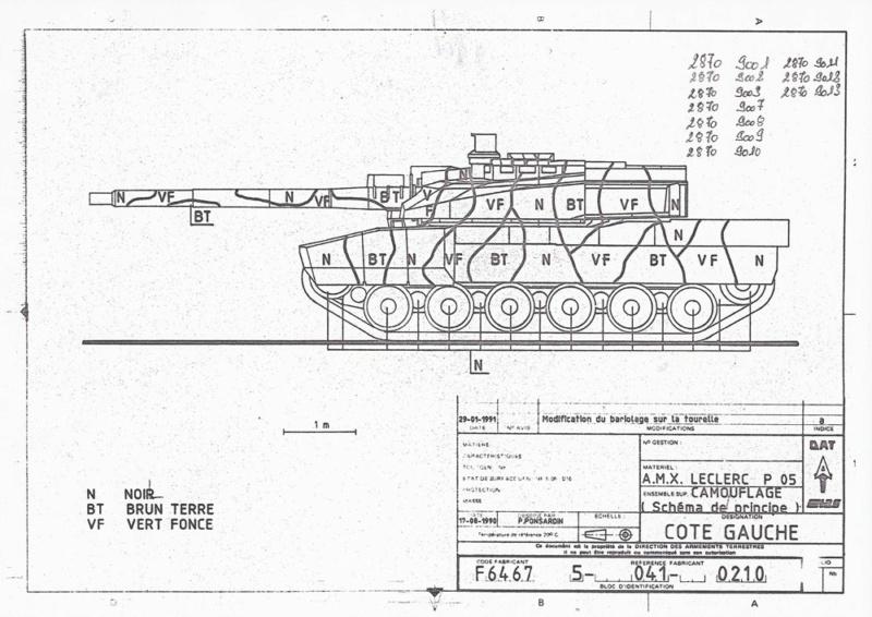 AMX 56 - LECLERC - HELLER 1/35 - FINI PAGE 7 - Page 3 Plan110