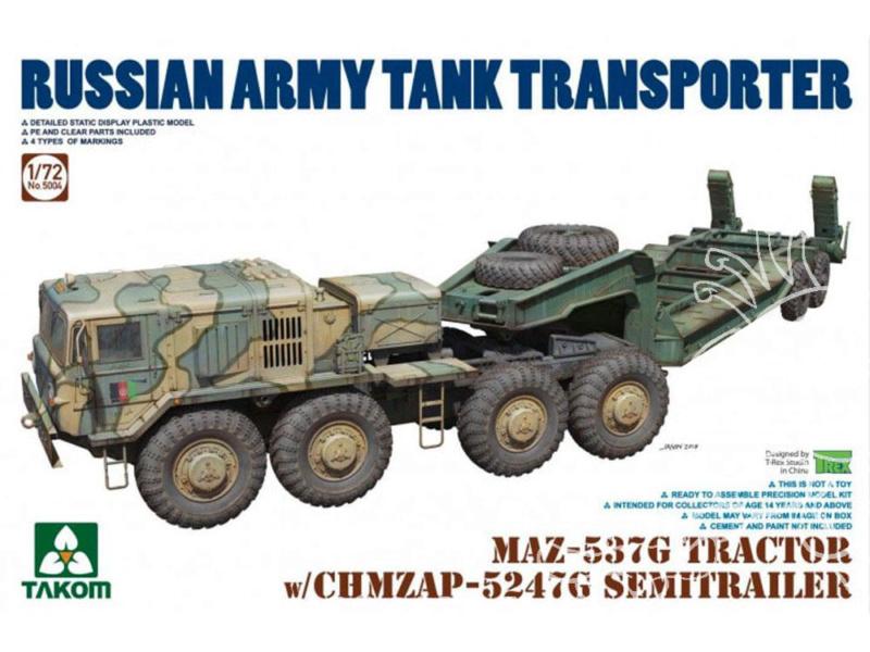 M1070 & M1000 w/D9R 1/72 ( Takom 5002 )*** Terminé en pg 7 - Page 2 Takom-10
