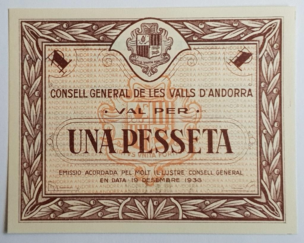 Consulta billetes de Andorra 1936 20180913