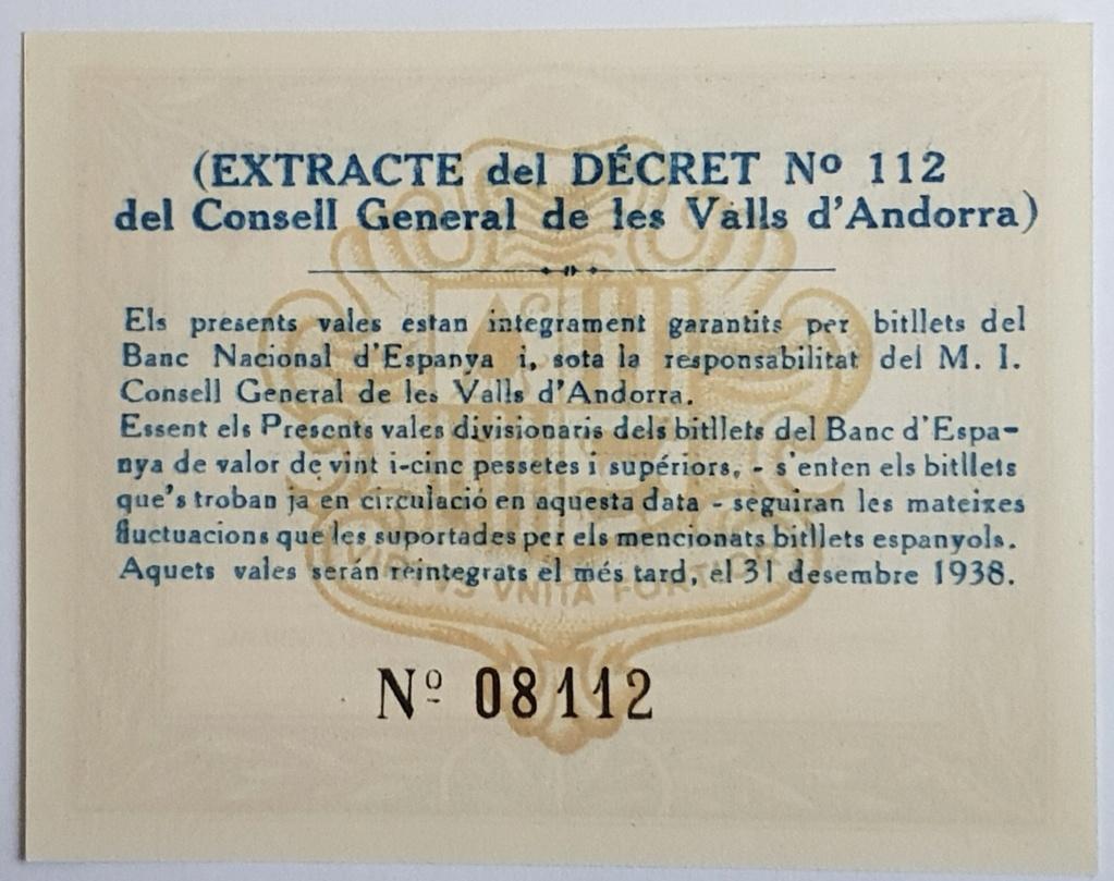 Consulta billetes de Andorra 1936 20180914