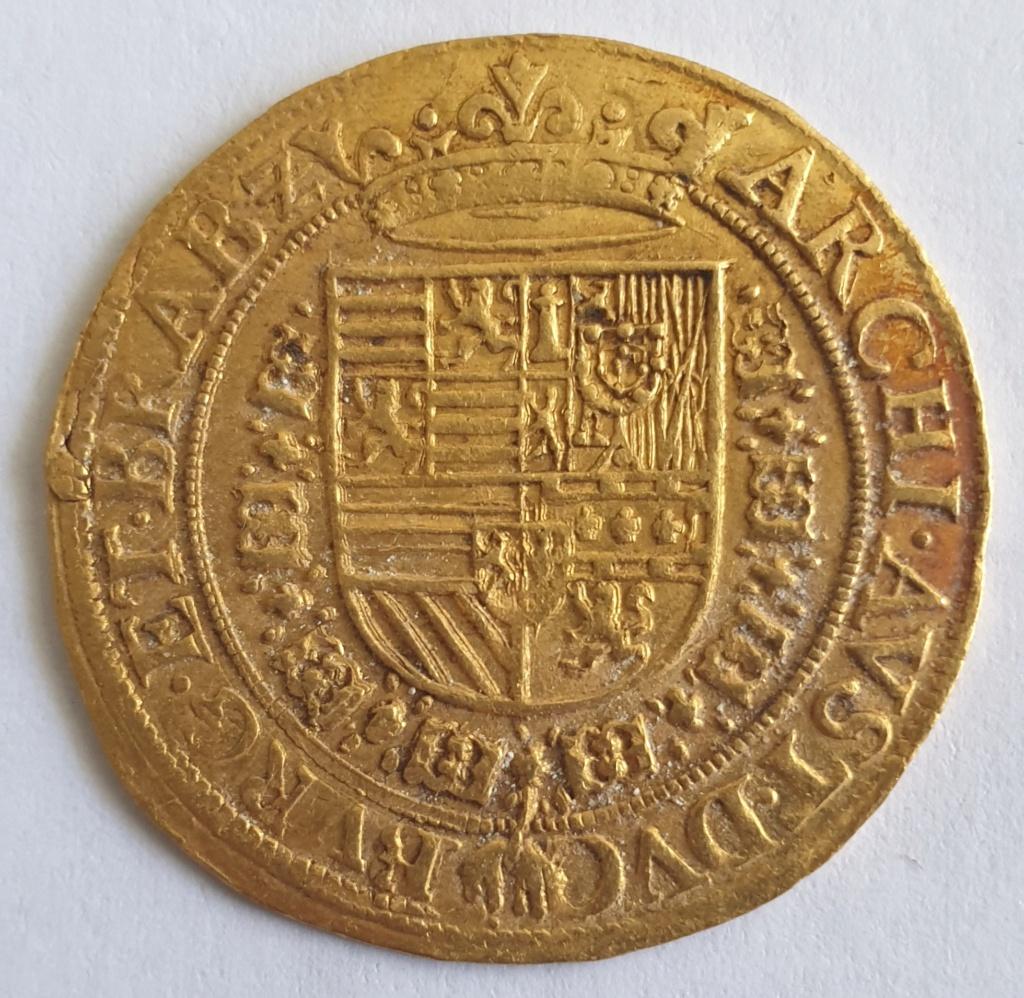 Doble ducado, Alberto e Isabel, Amberes 20200711