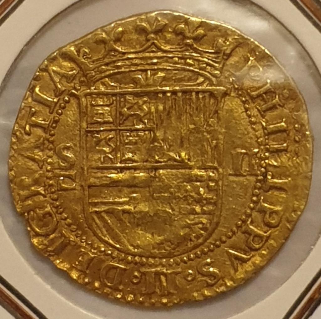 2 Escudos, Felipe II, Sevilla 20201011