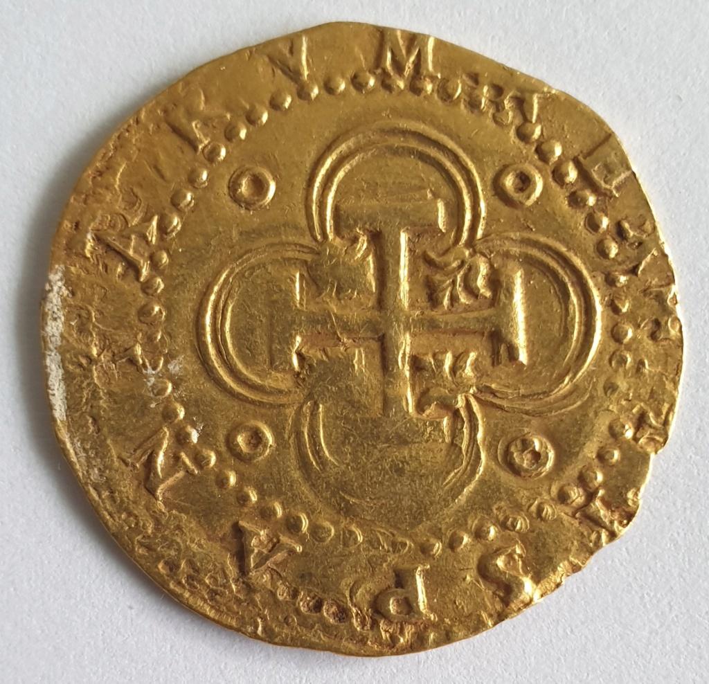 2 Escudos, Felipe II, Sevilla 20201012