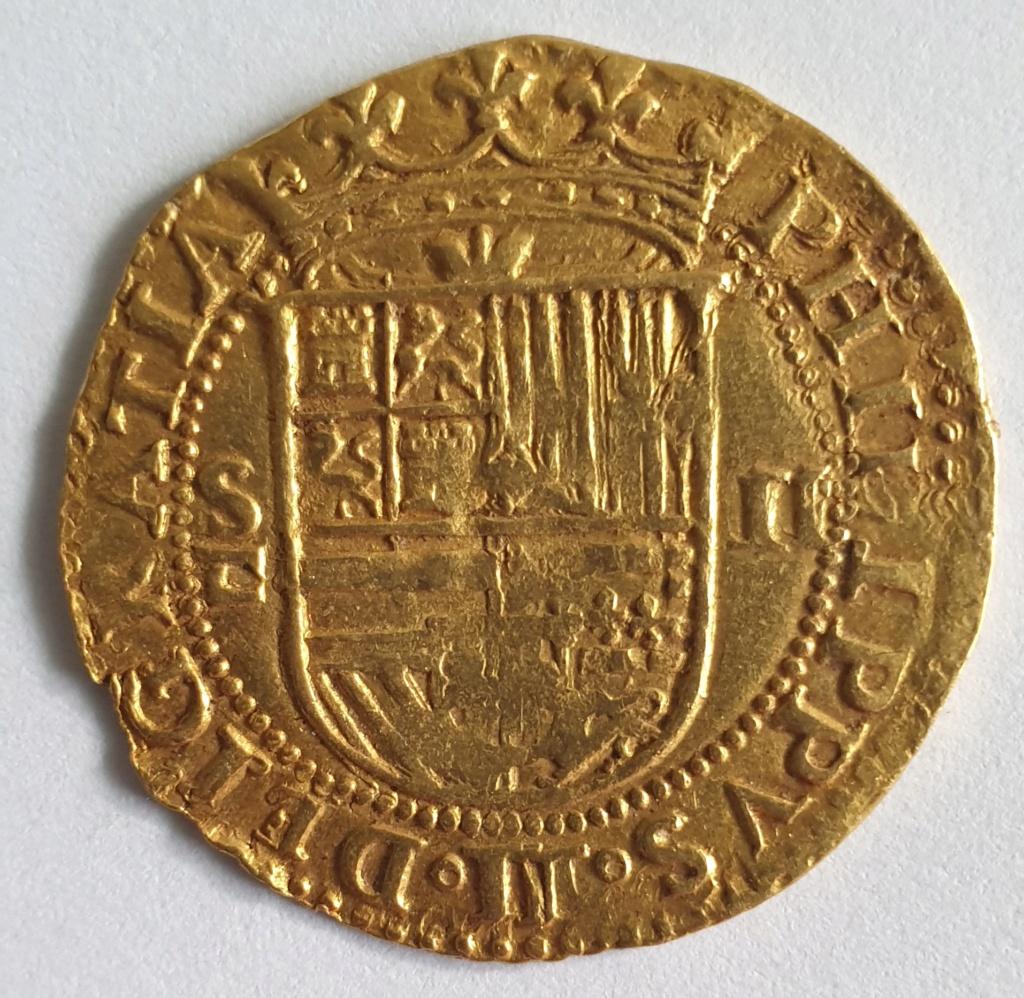 2 Escudos, Felipe II, Sevilla 20201013