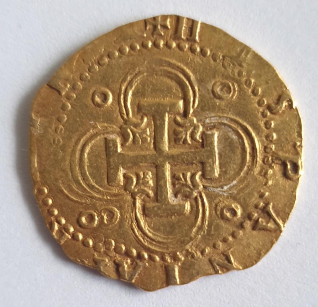 2 Escudos, Felipe II, Sevilla 20201016