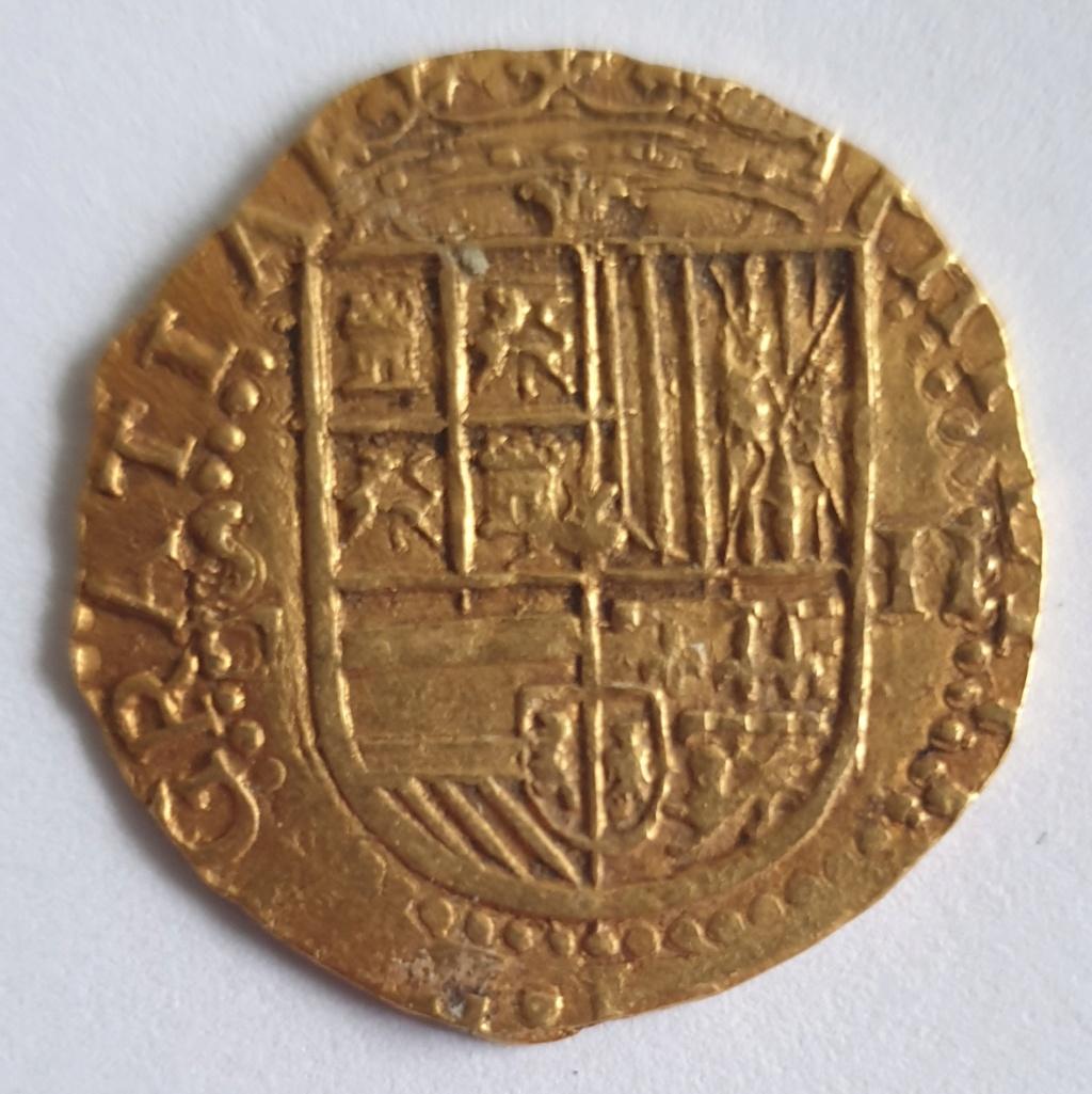 2 Escudos, Felipe II, Sevilla 20201017