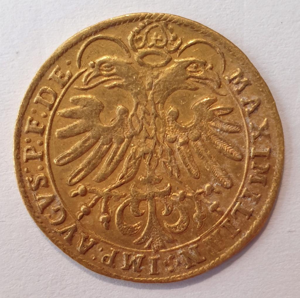 Doble ducado, Maximiliano II dr Habsburgo, Salzburgo 20201110