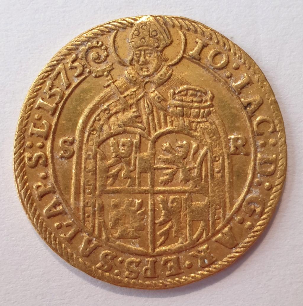 Doble ducado, Maximiliano II dr Habsburgo, Salzburgo 20201111