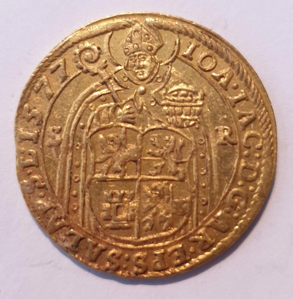 Doble ducado, Maximiliano II de Habsburgo, Salzburgo (post mortem) 20201112