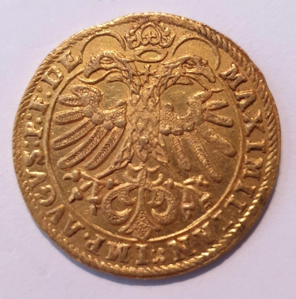Doble ducado, Maximiliano II de Habsburgo, Salzburgo (post mortem) 20201113