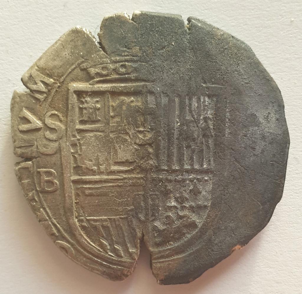 8 reales sevillanos, típo Omnivm, Felipe III, probablemente 1599 20210119