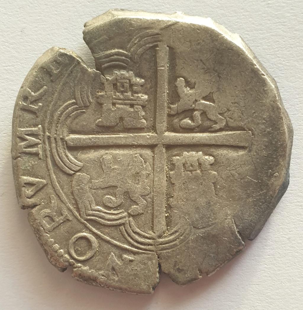 8 reales sevillanos, típo Omnivm, Felipe III, probablemente 1599 20210122