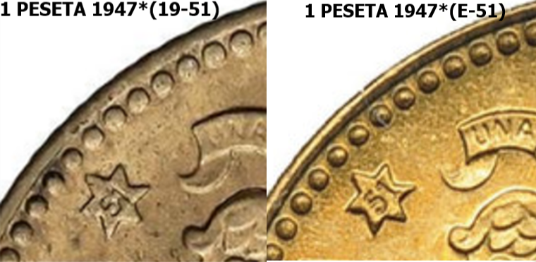 1 Peseta 1947 (*19-51) Estado Español  - Página 2 20210610