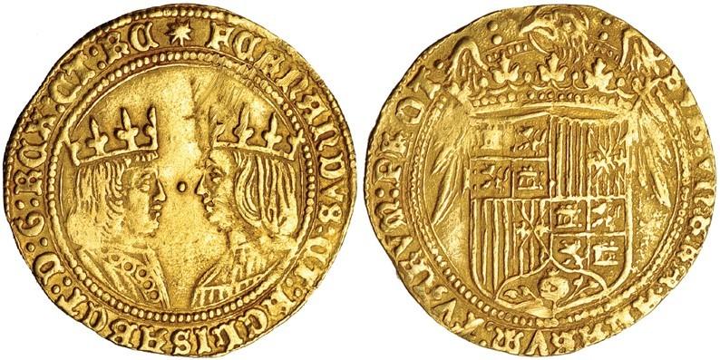 Doble excelente, Reyes Católicos, Sevilla (sin marca de ceca ni ensayador) 20231810