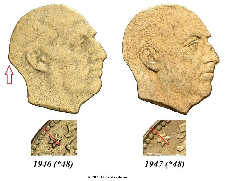 1 Peseta 1946 (*19-48). Estado español - Página 3 Busto_10