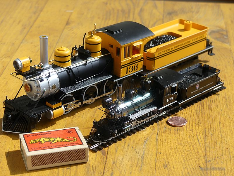 Metal Earth Wild West 2-6-0 Lokomotive P1070712