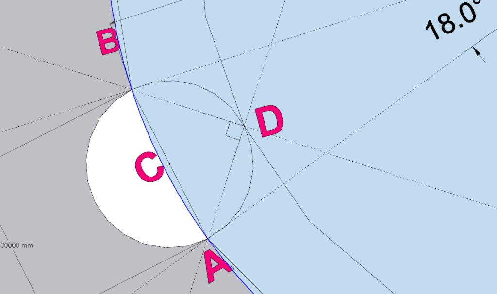 [ SKETCHUP généralité ] Plusiseurs anneaux sur le comntour d'un cercle Calcul13